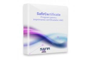 Program pentru imprimarea certificatelor ANC