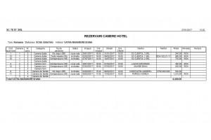 Program pentru hoteluri si pensiuni