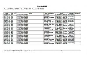 Program pentru cabinete medicale