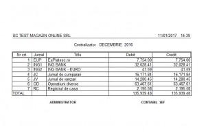Program de contabilitate generala