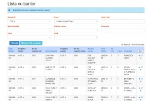 Program online pentru registre genealogice
